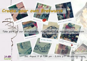 Create your own Bratwurst Flyer